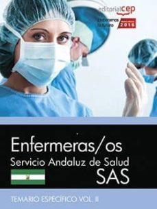Permacultivo.es Enfermeras/os. Servicio Andaluz De Salud (Sas). Temario Específico. Vol. Iii. Image