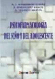 Descargar libros gratis en formato txt PSICOFARMACOLOGIA DEL NIÑO Y DEL ADOLESCENTE FB2 in Spanish