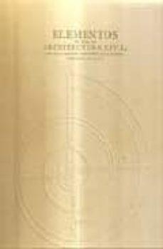 Concursopiedraspreciosas.es Elementos De Toda La Arquitectura Civil (Ed.facsimil) Image