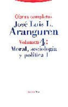 obras completas: moral, sociologia y politica i-9788481640731