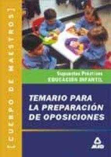 Encuentroelemadrid.es Temario Practico De Oposiciones Al Cuerpo De Maestros, Especialid Ad Educacion Infantil Image