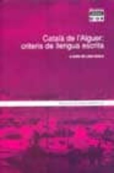 Debatecd.mx Catala De L Alguer: Criteris De Llengua Escrita Image