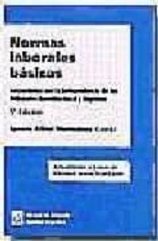 Srazceskychbohemu.cz Normas Laborales Basicas (Concordadas Con La Jurisprudencia De Lo S Tribunales Constitucional Y Supremo) Image
