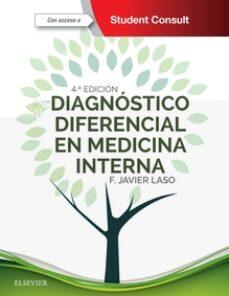 Descargar ebook format chm DIAGNÓSTICO DIFERENCIAL EN MEDICINA INTERNA 4 ED. ED 2018 2018  de F.J. LASO in Spanish 9788491131731
