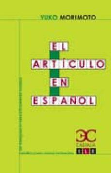 el articulo en español-yuko morimoto-9788497403931