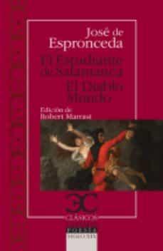 Descargas gratuitas de libros electrónicos EL ESTUDIANTE DE SALAMANCA. EL DIABLO MUNDO  de JOSE DE ESPRONCEDA (Spanish Edition) 9788497406031