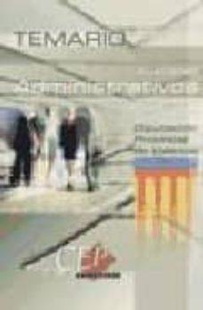 Cdaea.es Auxiliares Administrativos Diputacion Provincial De Valencia. Tem Ario Image