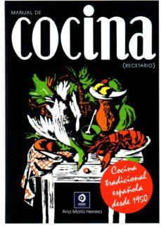Recetario De Cocina.Manual De Cocina Recetario Ana Maria Herrera Comprar Libro 9788497940931