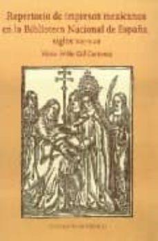Lofficielhommes.es Repertorio De Impresos Mexicanos En La Biblioteca Nacional De Esp Aña, Siglos Xvi-xvii Image
