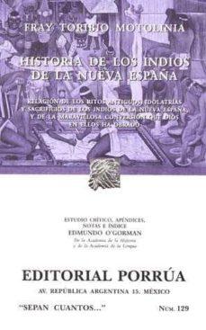 Curiouscongress.es Historia De Los Indios De La Nueva España (8ª Ed) Image