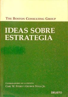 IDEAS SOBRE ESTRATEGIA - THE BOSTON CONSULTING GROUP | Adahalicante.org