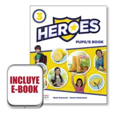 Libros mp3 gratis para descargar HEROES 3 PUPIL´S BOOK  EBOOK PACK (Spanish Edition)  9781380008541