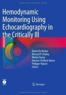 Descargas gratuitas de ebooks torrent HEMODYNAMIC MONITORING USING ECHOCARDIOGRAPHY IN THE CRITICALLY I II (INCLUY DVD) 9783540879541