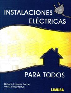 instalaciones eléctricas para todos-9786070508141