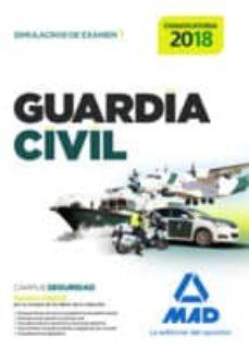 guardia civil. simulacros de examen 1-9788414210741