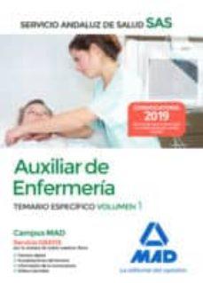 Eldeportedealbacete.es Auxiliar Enfermeria Del Servicio Andaluz De Salud: Temario Especifico (Vol. 1) Image