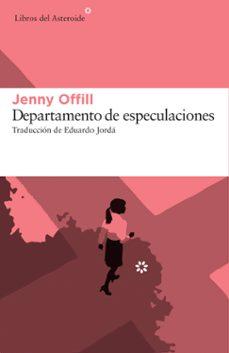 Libros en línea para leer gratis sin descargar DEPARTAMENTO DE ESPECULACIONES in Spanish