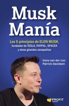 musk manía (ebook)-patrick davidson hans van der loo-9788416904341
