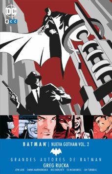 Permacultivo.es Grandes Autores De Batman: Greg Rucka; Batman: Nueva Gotham Vol.2 Image