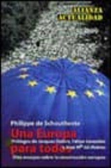 Javiercoterillo.es Una Europa Para Todos: Diez Ensayos Sobre La Construccion De Euro Pa Image