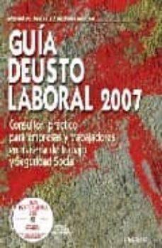 Colorroad.es Guia Deusto Laboral 2007 (Incluye Cd Rom) Image
