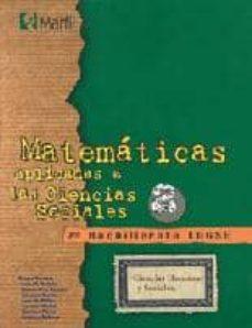 Padella.mx Matemáticas Aplicadas A Las Ciencias Sociales, 2 Bachillerato Image