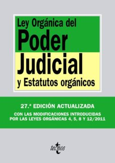 Ojpa.es Ley Organica Del Poder Judicial Y Estatutos Organicos Image