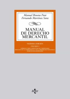 Costosdelaimpunidad.mx Manual De Derecho Mercantil (20ª Ed) Image