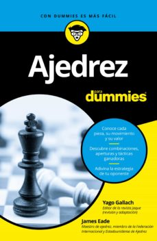 ajedrez para dummies-james eade-9788432904141
