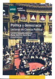Padella.mx Politica Y Democracia: Lecturas De Ciencia Politica (00003ud01a02 ) (2ª Ed.) Image