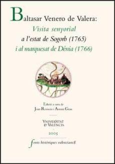 Padella.mx Visita Senyorial A L Estat De Sogorb (1765) I Al Marquesat De Den Ia (1766) Image