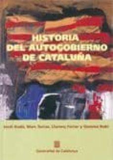 Cdaea.es Historia Del Autogobierno De Cataluña Image