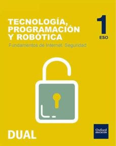 INICIA DUAL ROBOT 1ºESO INTERNET SEGUR - VV.AA.  