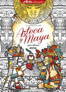 Libros de descargas de audio. LAMINAS DE ARTE AZTECA Y MAYA  de S.A. SUSAETA EDICIONES in Spanish 9788467752441