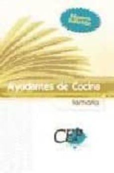 Colorroad.es Temario Ayudantes De Cocina. Oposiciones Generales Image
