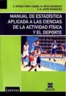 Noticiastoday.es Manual De Estadistica Aplicada A Las Ciencias De La Actividad Fis Ica Y El Deporte Image