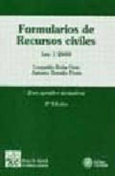Debatecd.mx Formularios De Recursos Civiles (Ley 1/2000) (2ª Ed.) Image
