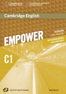 Leer un libro de descarga de mp3 CAMBRIDGE ENGLISH EMPOWER C1 WORKBOOK WITH ANSWERS WITH DOWNLOADABLE AUDIO de  PDB PDF FB2