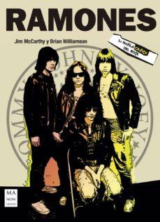 ramones la novela grafica del rock-jim mc cartey-9788494791741