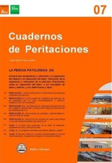 Libros en descarga gratuita. CUADERNOS DE PERITACIONES - VOLUMEN 7 de JOSÉ ALBERTO PARDO SUÁREZ DJVU RTF 9788494855641