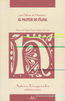 Descargar libros gratis para iphone EL PASTOR DE FILIDA RTF MOBI PDB de LUIS GALVEZ DE MONTALVO 9788497471541