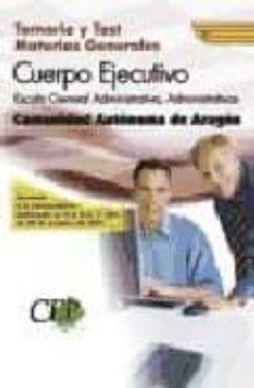 Debatecd.mx Materias Generales Cuerpo Ejecutivo Escala General Administrativa , Administrativos Comunidad Autonoma De Aragon Image