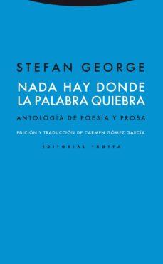 Ebook gratis descarga el viejo y el mar. NADA HAY DONDE LA PALABRA QUIEBRA PDF FB2 iBook in Spanish 9788498792041