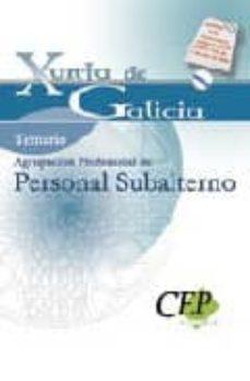 Debatecd.mx Temario Oposiciones Agrupación Profesional De Personal Subalterno Image