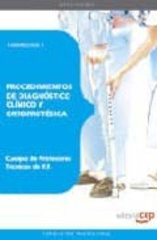 Inmaswan.es Cuerpo De Profesores Tecnicos De Formacion Profesional Procedimie Ntos De Diagnostico Clinico Y Ortoprotesica. Temario. Vol. I Image