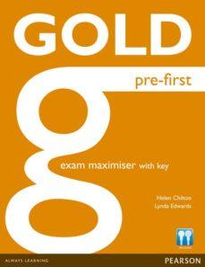 Descargas gratuitas kindle libros GOLD PRE-FIRST MAXIMISER WITH KEY ED 2013 9781447907251