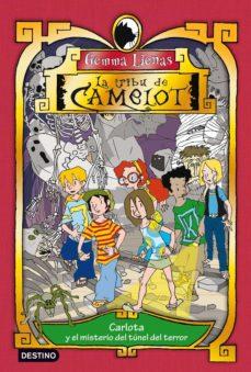carlota y el misterio del túnel del terror (ebook)-gemma lienas-9788408110651