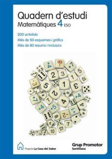 Padella.mx 4º Sec Quadern Estudi Matematiques Catal Ed12 Image