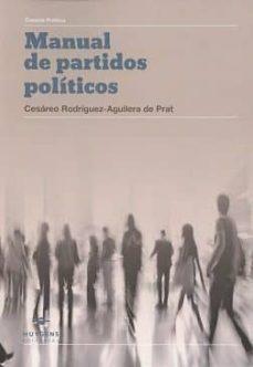 manual de partidos políticos-cesareo rodriguez aguilera de prat-9788415663751