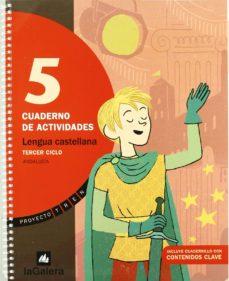 Chapultepecuno.mx Tren Lengua 5º Primaria Cuaderno Actividades (Ed. Andalucía) Image
